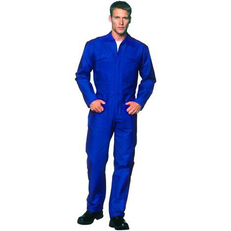 Combinaison bleue 1 Zip T36-38 coton