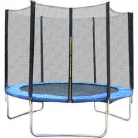 Filet de securite pour trampoline 8ft diametre 244 cm - Noir