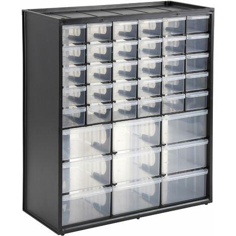Casier de Rangement - 39 compartiments - 36,5 x 16 x 44,5 cm - STANLEY, 1-93-981