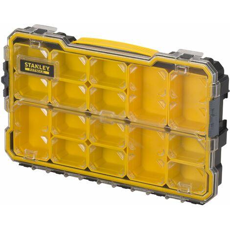 Organiseur - Etanche - 14 Compartiments Amovibles - FATMAX - STANLEY, FMST1-75779