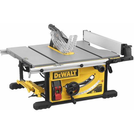 Scie à Table - 2000 W - 250 mm - Table en fonte d'Aluminium - DEWALT, DWE7492-QS