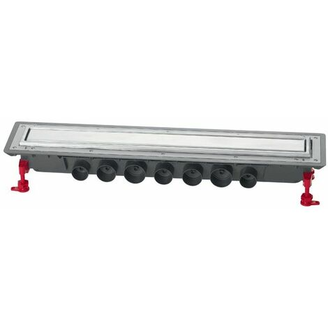 Caniveau douche Venisio Expert Ht 89mm+Grille inox - 800mm