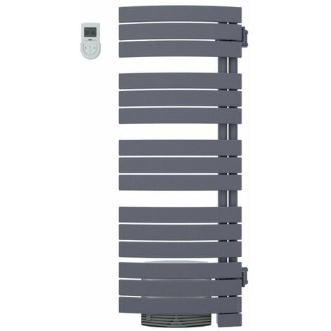 Radiateur sèche-serviettes Néfertiti mixte ventilo - 750+1000W - Graphite