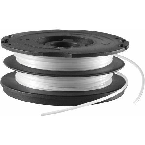 Bobine Reflex Plus 2x6 m - diamètre du fil 1,6 mm - fil torsadé BLACK+DECKER A6495-XJ