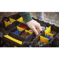 Servante Modulo 2 en 1 - Boîte à Outils - 1 Organiseur - 1 Module Profond pour Electroportatif - STANLEY, STST1-79231