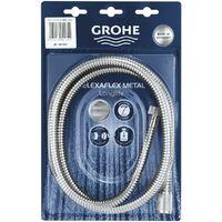 GROHE Flexible douche 2000 mm Relexaflex Metal Longlife Chromé
