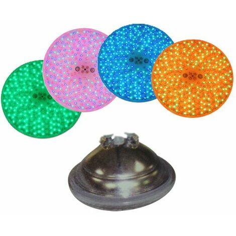 lampe projecteur 252 leds couleur 20w - led252 - melfrance