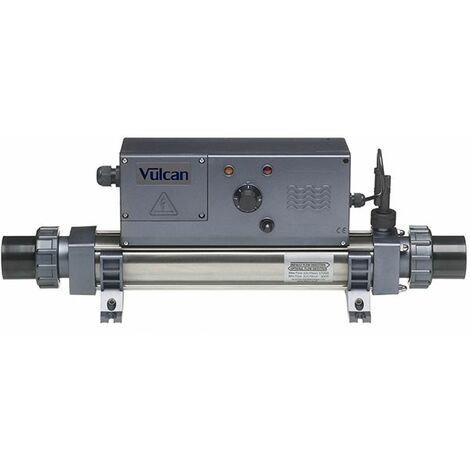 réchauffeur electrique 6kw mono analogique - v-8t86 - vulcan