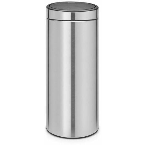 poubelle 30l matt steel - 115349 - brabantia