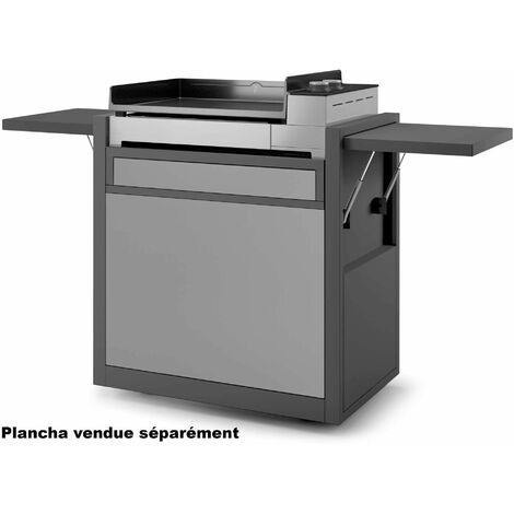 chariot pour plancha - chpafng60 - forge adour