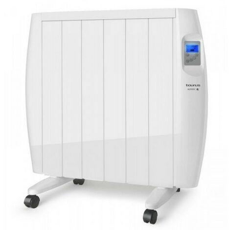 radiateur électrique à inertie sèche 1200w blanc - malbork 1200 - taurus alpatec