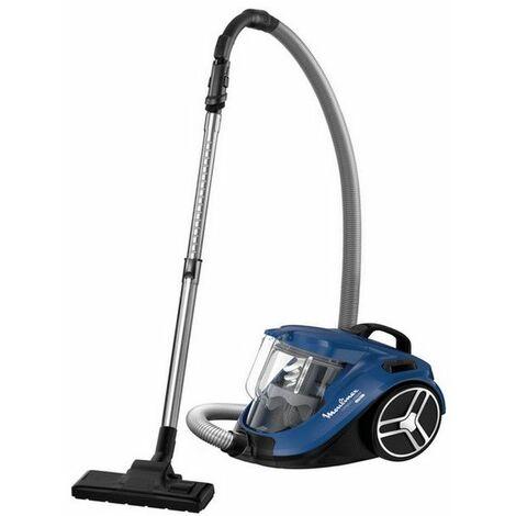 aspirateur sans sac 75db bleu - mo3711pa - moulinex
