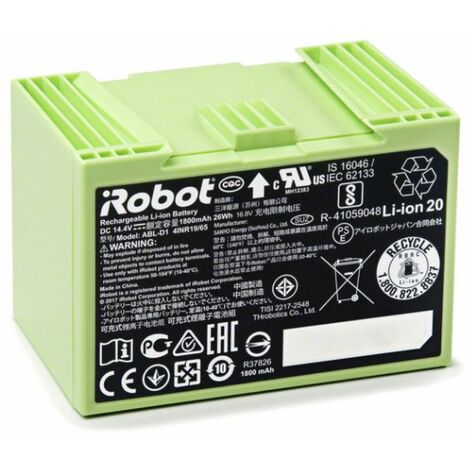 batterie lithium irobot pour roomba séries e et i - 4624864 - irobot