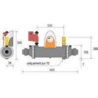 echangeur thermique 70kw multitubulaire - heat line plus 70 - psa