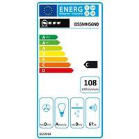 groupe filtrant 52 cm 650m3/h inox - d55mh56n0 - neff