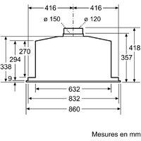 groupe filtrant 86cm 800m3/h inox - d58ml66n1 - neff