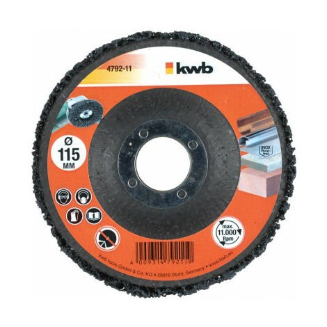 Disco decapador para amoladora 115x22 mm KWB