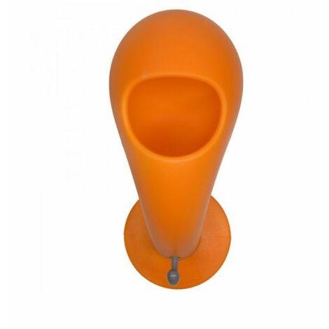 Patère déco multifonction Crazy Head porte casque vide poche - MYYOUR - Orange - Intérieur - Orange