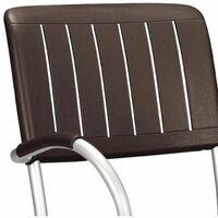 Chaise avec accoudoir Jardin & Terrasse Musa NARDI - Café - Extérieur - Café