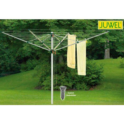 Juwel Wäschespinne NOVAPLUS 600 Wäschetrockner Wäscheleine Wäscheständer