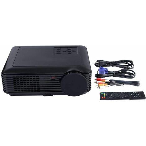 Proiettore Cinema per Casa HD 2600 Lumen LCD LED Portatile Videoproiettore HD USB / HDMI / VGA / TV / Video per Casa, Ufficio
