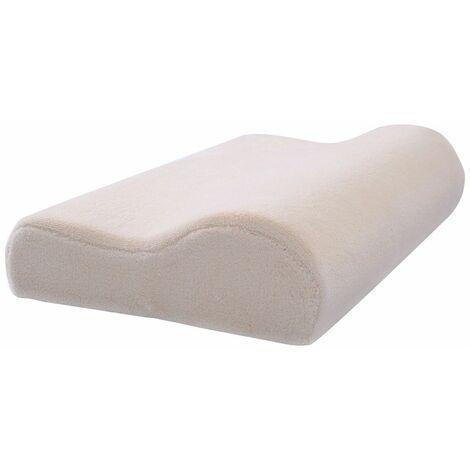 Cuscino Memory Cuscino Morbido In Memory Cuscino Ortopedico Cervicale Bianco 50 X 30 X 10 Cm