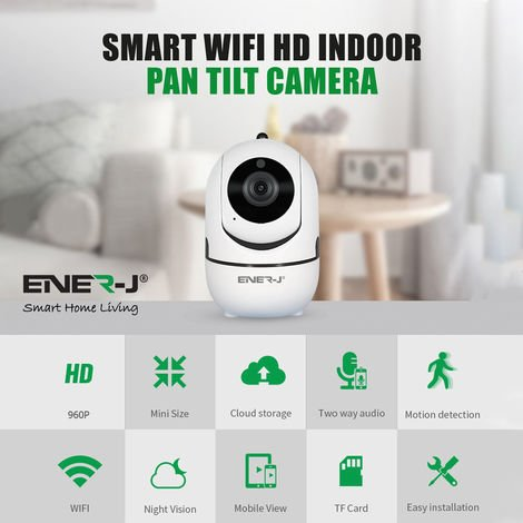 Multifunctional Indoor IP Camera, 960P (1.3MP) with IR Night vision and Auto Tracking
