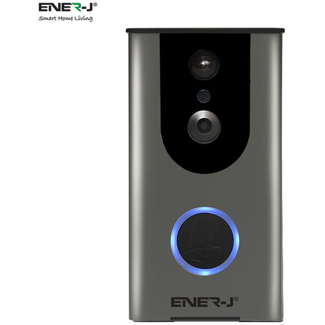 Video Doorbell Wireless Smart 720P HD Security Camera Doorbell with 16G Card, inbuilt Battery, 2-Way Talk Wide Angle PIR Motion Detection Night Vision