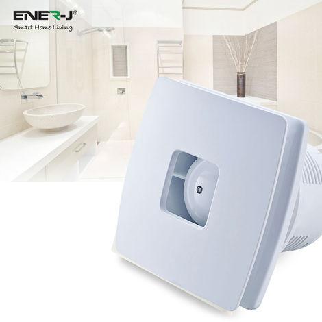 12W Axial Kitchen Wall Fan, Stylish Design, Low Noise (Standard) 100mm