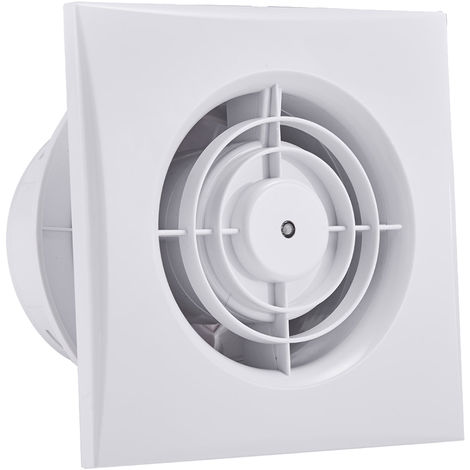 12W Axial Kitchen Wall Fan, Eco Design, High Speed (Standard) 100mm