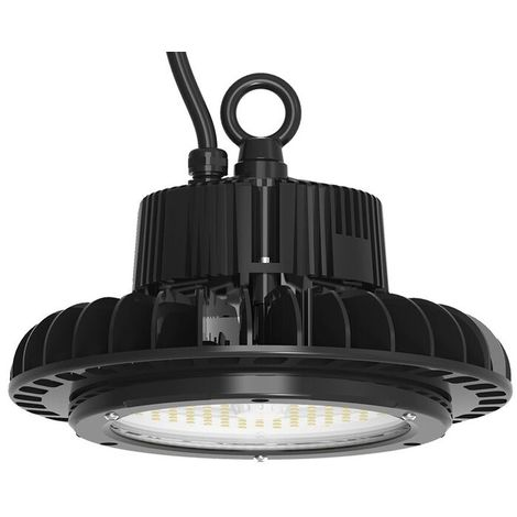 UFO LED Highbay, 100W, 14000Lm, 5yrs warranty, 5700K, Samsung LED and LIFUD Driver, 1-10V Dimmable
