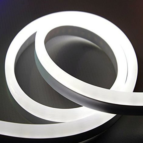 3 meter Plug and Play LED Neon Flex Kit IP65 rated, White 6500K