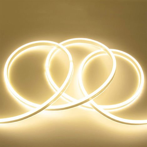 3 meter Plug and Play LED Neon Flex Kit IP65 rated, Day White 4000K