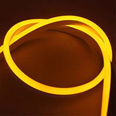 3 meter Plug and Play LED Neon Flex Kit IP65 rated, Warm White 3000K