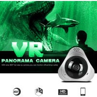 VR CAMERA, 1.3MP WIFI IP CAMERA, 2 Way Audio
