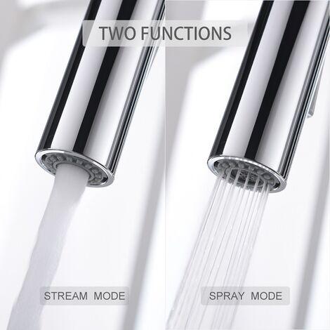 Wasserhahn Küchenarmatur Einhebelmischer Mischbatterie Spüle Armatur für Küche