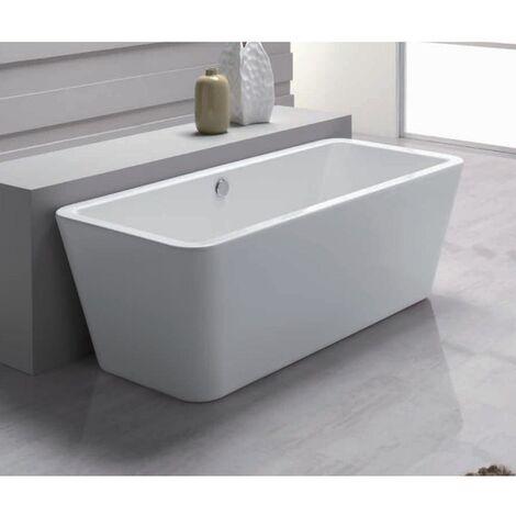 Vasca centro stanza con sistema top 180x180 cm aqualife - sumatra