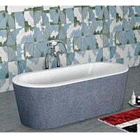 Vasca centro stanza con sistema top 177.5x83 cm aqualife - bali