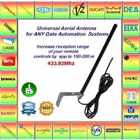 Antenne  AERIAL universelle 433,92 MHz! Compatible avec SEAV, ALLMATIC
