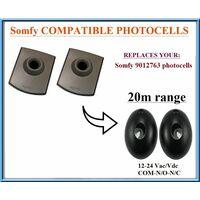 Somfy 9012763 , 12-24V, N.C-COM-N.O.  compatible avec universel infrarouge photocellules