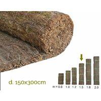 Brezo extragrueso nacional. Rollo 150x300cm