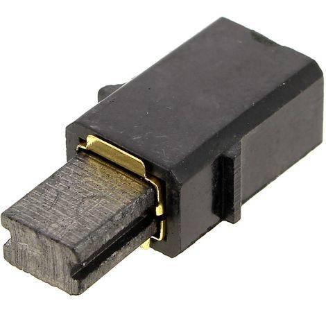 Charbon + support (par 1) 8x5mm pour Scie sauteuse Black & decker