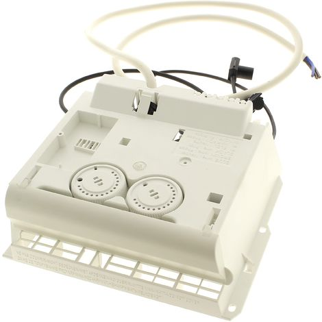 Module electronique 2 molettes + curseur pour Radiateur Thermor, Radiateur Sauter, Radiateur Atlantic