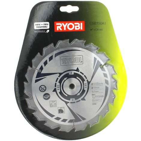 Lame scie circulaire 150x10 18 dents one pour Scie circulaire Ryobi