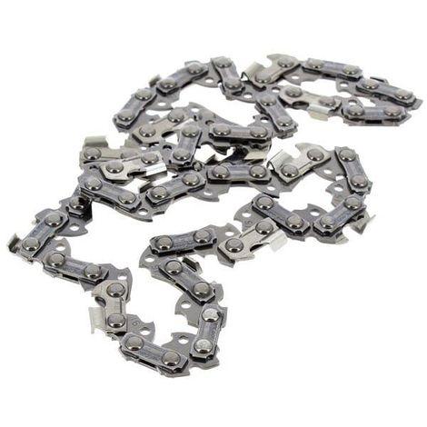 Chaine 20cm 3/8 pouces 33 maillons pour Taille-haie Mac allister, Elagueur Mac allister, Elagueur Florabest, Elagueur Top craft, Elagueur Sterwins, El