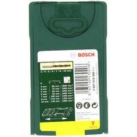 Meches bois mini x-line par 7 pour Perceuse Bosch, Visseuse Bosch, Perforateur Bosch, Perceuse Skil, Perceuse Siplec, Perceuse Parkside, Visseuse Park