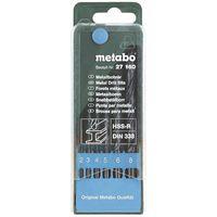 Coffret 6 forets metaux hss-r / din338 pour Perceuse Metabo, Perceuse Dewalt, Perceuse Hitachi