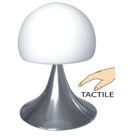 Lampe Chevet Tactile Caresse - Blanc