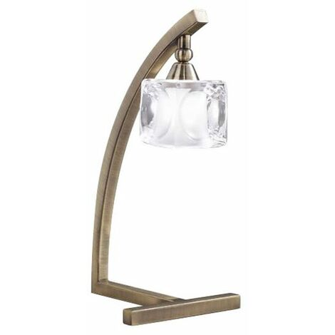 Lampe Baroque Laiton Glaçon - Doré