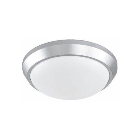 Plafonnier design LED Mayotte 33 Dalle lumineuse - Argent